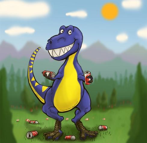 Recyclosaurus-rex